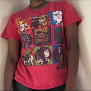 StarWars Characters T Shirt